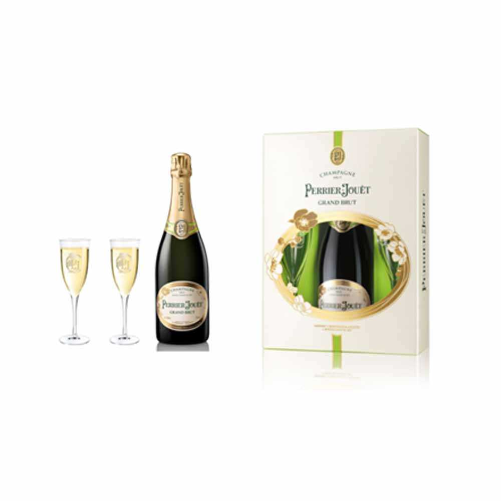 Perrier Jouet Champagne Gift Set